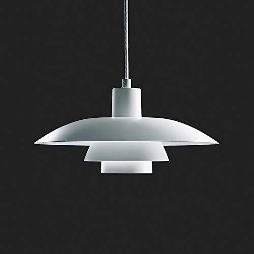LWX Araña, Luz Metal Moderno Y Sencillo, con Personalidad Creativa, Única Lámpara De Cabeza En La Escalera Restaurante (40 * 20 Cm, Tornillo E27)