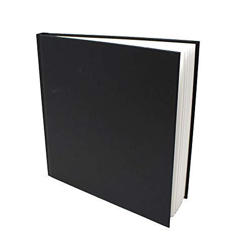 Artway Studio - Skizzenbuch mit festem Einband - säurefreies Papier - Hardcover - 46 Blatt mit 170 g/m² - 195mm Quadratisch