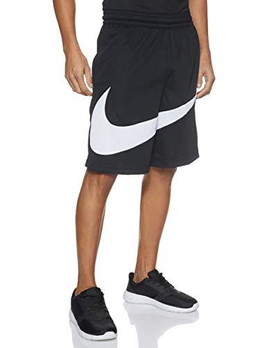Nike PRO Dri-Fit Hbr Shorts, Pantaloni Uomo, Nero (Black/White), (Taglia Produttore: Medium)