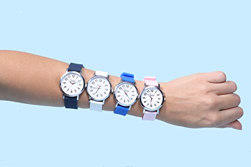 Speidel Scrub Watch Replacement Silicone Rubber Band – 18mm, 20mm, 22mm and 24mm, Multiple Colors Options