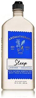 【Bath&Body Works/バス&ボディワークス】 ボディウォッシュ&フォームバス アロマセラピー スリープ ラベンダーシダーウッド Body Wash & Foam Bath Aromatherapy Sleep Lavender Cedarwood 10 fl oz / 295 mL [並行輸入品]