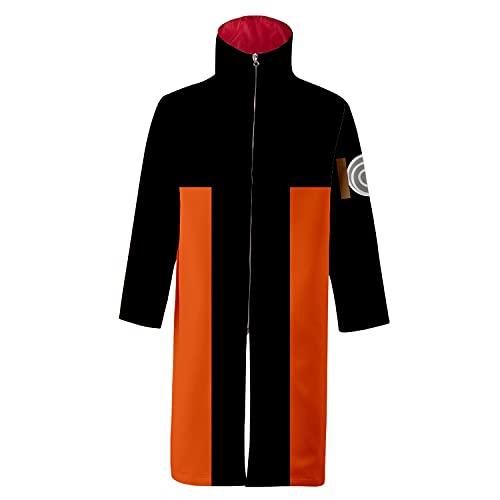 I3C - Abrigo de Capa de One Piece Vestido de una Pieza Ninjia Traje de Disfraz, diseño de Anime japonés XXL
