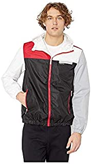 Members Only Men's Lightweight Colorblock Hooded Jacket