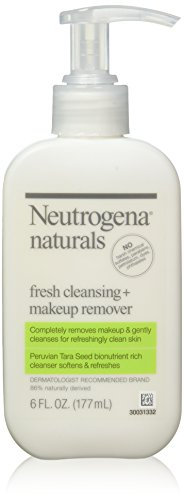 Neutrogena Naturals Fresh Cleansing + Makeup Remover 6 oz (Pack of 3)