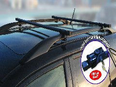 Anti Theft Lockable Roof Rack Bars for Volvo V70 with for sale  Delivered anywhere in UK