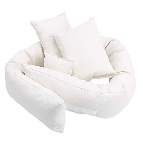 Cojín posicionador de mini sesión de fotos, almohada infantil recién nacido posando sofá conjunto de sesión fotográfica accesorios para fotos de Navidad