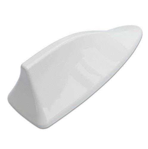 BHQMV Aviones de la señal de automóvil Antena de Aleta de tiburón/Ajuste para Peugeot 107 108 206 207 301 406 407 607 308 307 508 (Color : White)