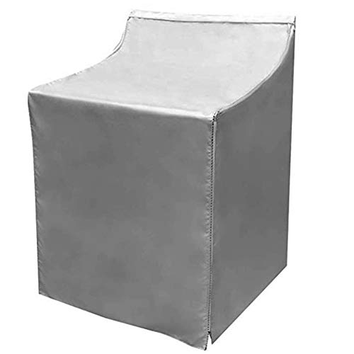 Haushaltsbalkon Wasserdicht Staubdicht Sonnenschutz Waschmaschine Abdeckung Wäschetrockner Schützen (29. 1X28. 0X39. 8In Grau)