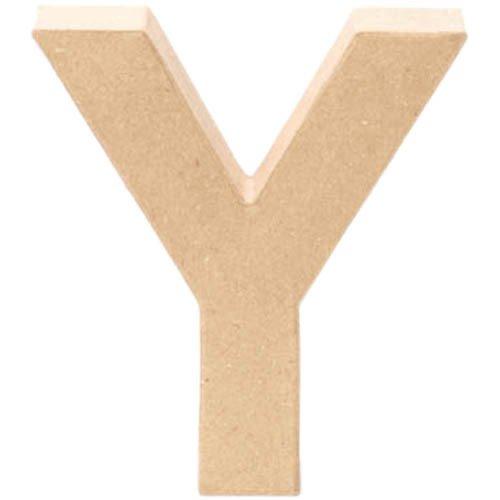 Creative Lettre en Carton Y, 17,5x5,5cm [Jouet]