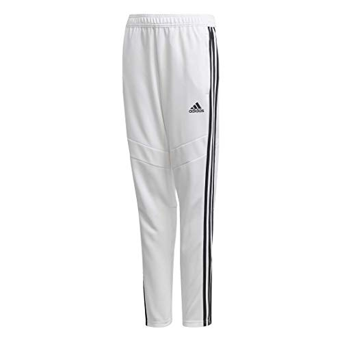 adidas Male Tiro 19 Training Pants, White/Black, 2XS