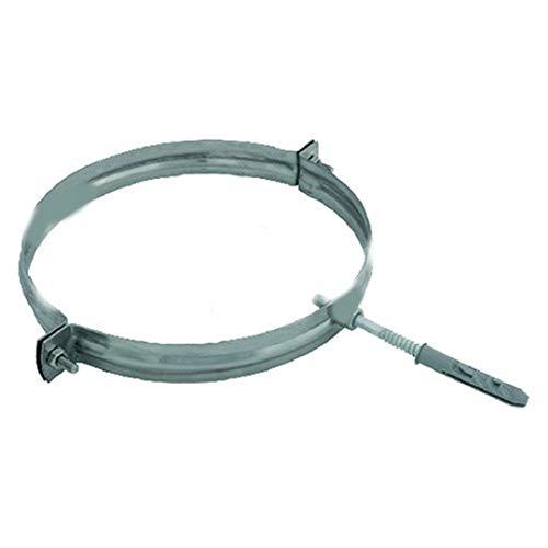 Collare di fissaggio inox per canna fumaria (100mm)