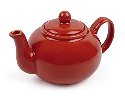 RSVP Chai 16-ounce Teapot (Red)