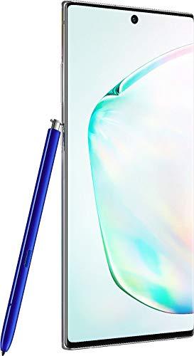 Samsung Galaxy Note 10+ Plus 256 GB com S Pen Aura Glow/Prata (desbloqueado de fábrica para tela GSM e CDMA, 6,8 polegadas, garantia dos EUA) SM-N975UZKAXAA