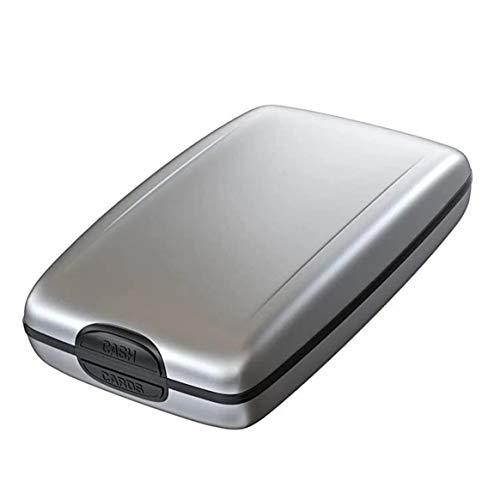 Bolsa de identificação antirroubo para pendurar no pescoço e cartão de identidade, bolsa para guardar documentos, cartão de passaporte, porta-carteira