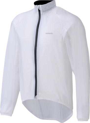 Shimano Performance Giacca anti-pioggia da uomo colore: Trasparente, Trasparente, S