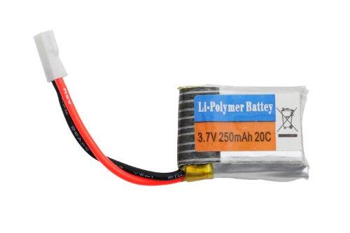 XciteRC 56600003 Energy XXL LiPo Akku 3.7 V/250 mAh, Quadrocopter Hotbee 3D