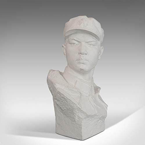 Generic Vintage Büste Orientalisches Pflaster Historische Skulptur Mao Zedon 20. Jahrhundert