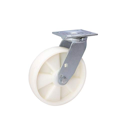 AnSafe Ruedas Giratorias, Durable Fuerte Mueble Accesorios Tarea Pesada Rolling Silencioso Reemplazo Silla De Oficina Ruedas De Carro (Color : Universal Wheel, tamaño : 4 Inch)