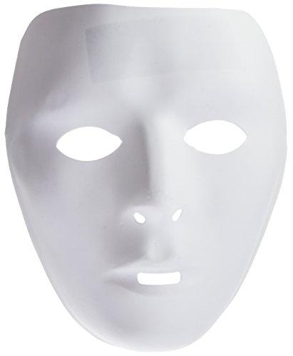 Générique ma0110–1Stück Masken Kind Hat Malen PVC–Einheitsgröße Modell zufällige