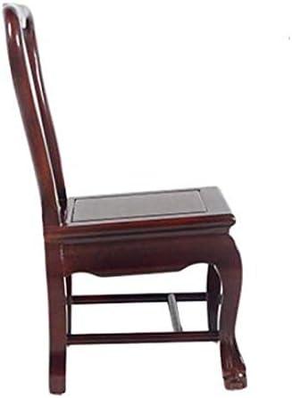 SHOUTAOS Ménages Chaise en Bois Massif, Banc De Chaussures Creative, Table Basse Petit Banc, Chinois Retour Tabouret CLKMRY (Color : Red) Red
