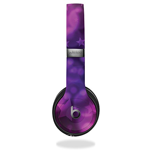 MightySkins Skin Compatible with Beats by Dr. Dre Solo 3 Wireless - Star Power   Protective, Durable, and Unique Vinyl Decal wrap Cover   Easy to Apply, Remove, and Change Styles   Made in The USA
