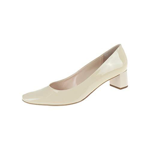 HÖGL Pumps 31044341200 - Zapatos para Mujer, Color Crema, Color Blanco, Talla 41.5 EU