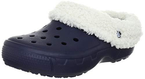 Crocs Mammoth EVO Clog, Unisex - Erwachsene Clogs, Blau (Navy/Oatmeal), 42/43 EU