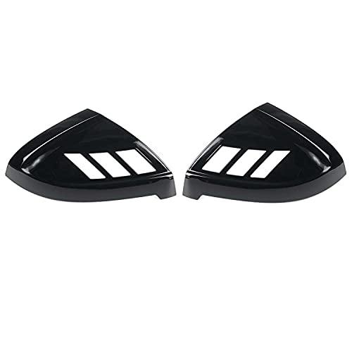 VNASKH 2 uds, Tapa de espejo retrovisor de puerta lateral de coche, cubierta lateral de Mrror, ajuste para Audi A4 S4 RS4 A5 S5 RS5, todos los modelos 2017-2020