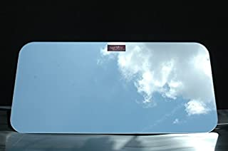 【トラック内装・室内用品】いすゞ07フォワード[H19/7~現行] スーパーミラー 5mm厚ミラーパーツ【本物の鏡面】車内リアウィンドウを簡単ドレスアップ