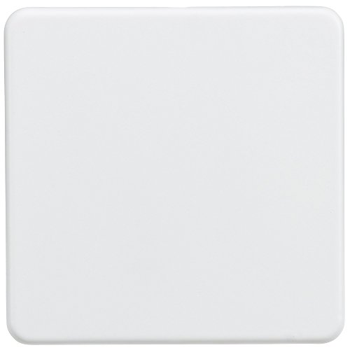 Knightsbridge SF8350MW Screwless 1G Blanking Plate-Matt White