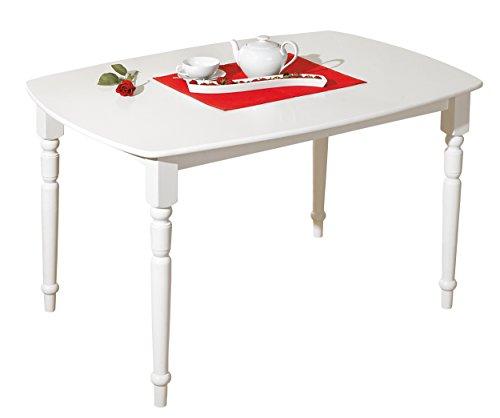 Links - Tavolo Bianco Stile provenzale in Legno massello