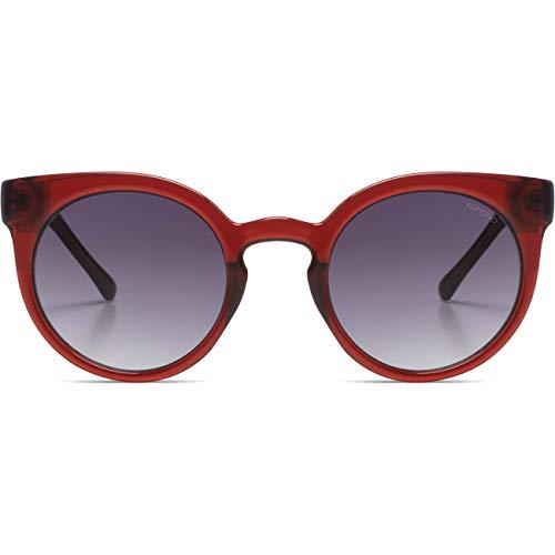 KOMONO Lulu S2039 Sonnenbrille rot Einheitsgröße