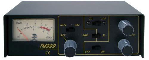 Zetagi TM-999 SWR/Wattmetro con Matcher per radio CB