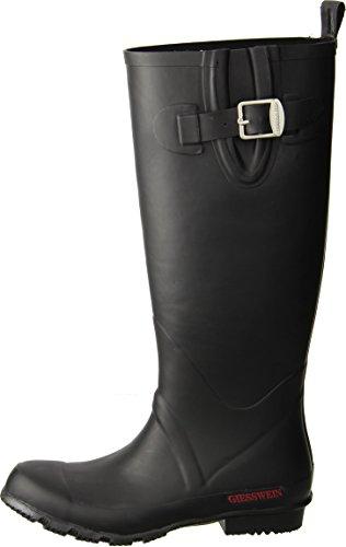 GIESSWEIN Gummistiefel Zwiedorf - Langschaft Stiefel mit Verstellbarer Schaftweite, Gummi Stiefel für Damen, wasserdicht, Regen Boots mit Absatz