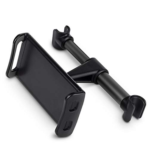 Jeu GeHL Car Tablet Holder, Auto Seat Back Telefoon Houder Stand 360 Roterende Auto Stoel Stand Cradle Zwart