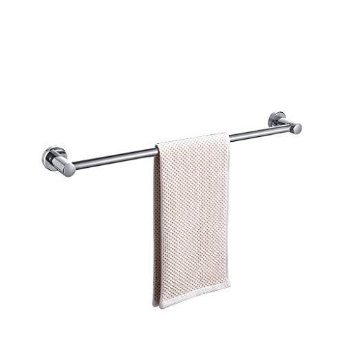 XJJZS Baño Estante con toalleros, Acero Inoxidable de la Pared de Montaje en Rack de Almacenamiento en Rack, Punch Gratuito