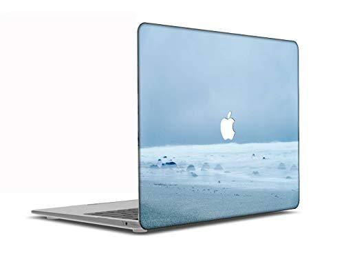 Congsansuo Cut Out Design Plastic Pattern Ultra Slim Light Hard Shell Case Cover Compatible MacBook Pro 13 inch Retina Display No CD-ROM Model:A1425/A1502,Landscape B 0645