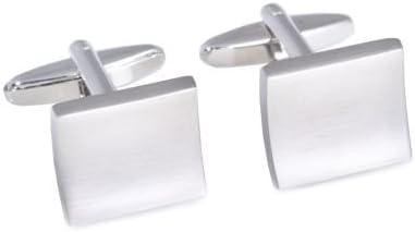 Square Concave Cufflinks