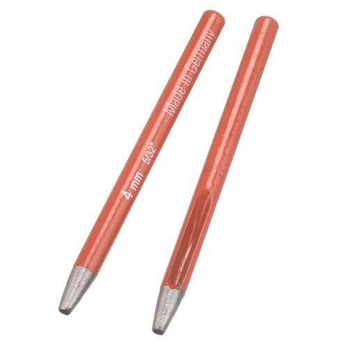 Efco Ovale à œillets Punch, Rouge, 11 cm, 4 mm
