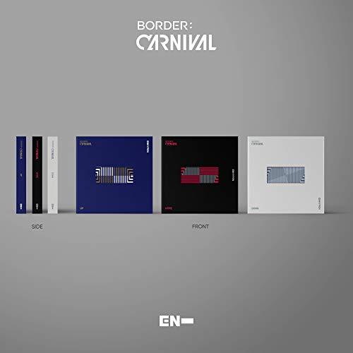 ENHYPEN - BORDER : CARNIVAL (2nd Mini Album) Album+Extra Photocards Set (UP ver.)