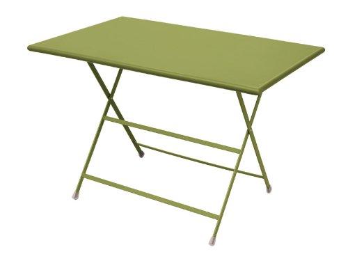 Emu Tisch Arc En Ciel Klapptisch - grün Emu, Stahl, Gartentisch - Outdoortisch - Terassentisch