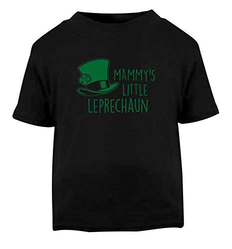 Flox Creative T-Shirt bébé Mammy's Little Leprechaun Noir Nouveau-né - Noir - 2 Ans