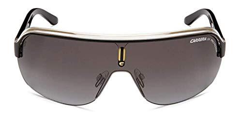 Carrera TOPCAR 1 PT KBN Gafas de sol, Negro (BLKCRYELLOW/GREY SF), 99 Unisex Adulto