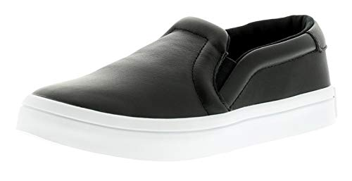 adidas Scarpe Court Vantage Slip ON W S75167 Moda Donna Running Black White
