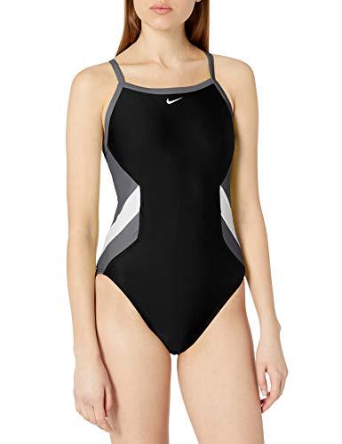 Nike Swim Women's Crossback One Piece, Iron Grey, 38