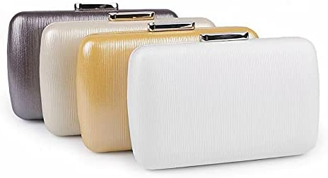 1pc White Clutch/Formal Evening Purse Metalic, Purses and Handbags, Handbags, Clutches, Fashion Accessories