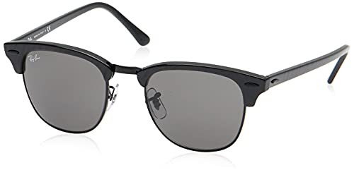 Ray-Ban Clubmaster Lunettes de Repos, Schwarz, One Size Mixt