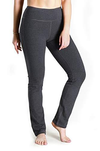 Yogipace - Yoga-Hosen für Herren in Kohle (Ohne Rückentaschen), Größe Large/29