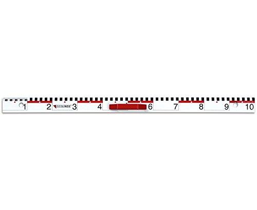 Geoliner Magnet-Lineal - Tafelzeichengeräte Zeichengeräte Tafel Schule Lehrer Lernen Mathematik-Unterricht Geometrie Lehren Schultafel Tafelmaterial