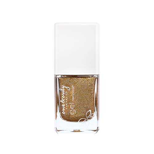 ONE & Only Chrome Gel Nail Polish, 10 ml, nagellak, voor vrouwen, manicure, pedicure, nagelverzorging, intense kleuren, met brede kwast,